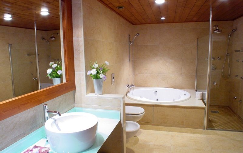 baño suite Hotel Fontanals Golf