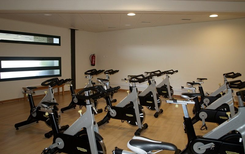 ciclismo indoor Hotel Fontanals Golf